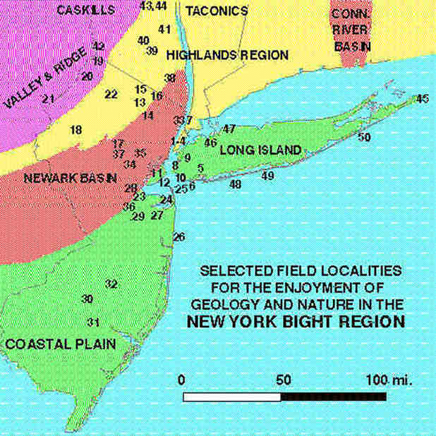 GEOLOGY AND GEOGRAPHY OF THE NEW YORK BIGHT